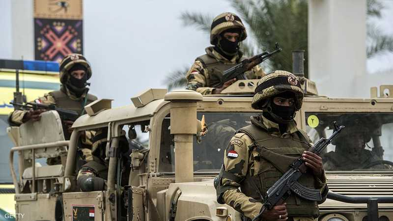 مصرع 7 إرهابيين عقب إحباط هجوم فاشل للمتطرفين في سيناء
