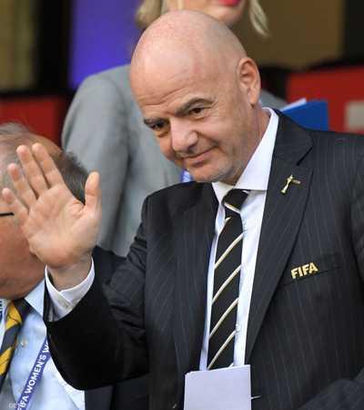 جاني إنفانتينو رئيس الاتحاد الدولي لكرة القدم