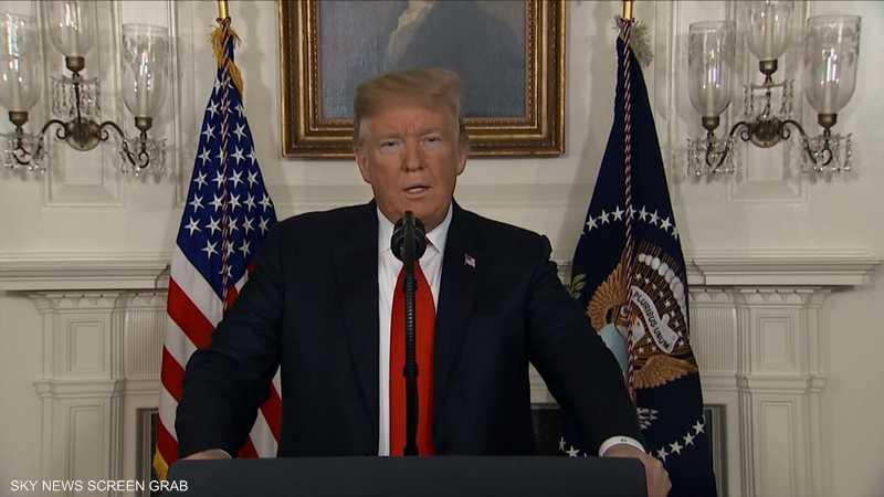 ترامب: أي حرب مع إيران لن تدوم طويلا