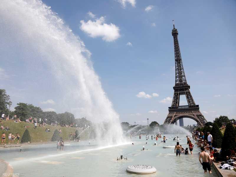 موجة حر تجتاح القارة الأوروبية