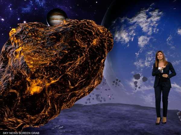 كويكب يقترب من الأرض ويهدد بضربها