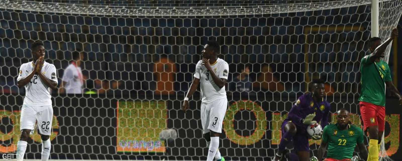 قمة الكاميرون وغانا انتهت بلا أهداف رغم حشد نجوم المنتخبين
