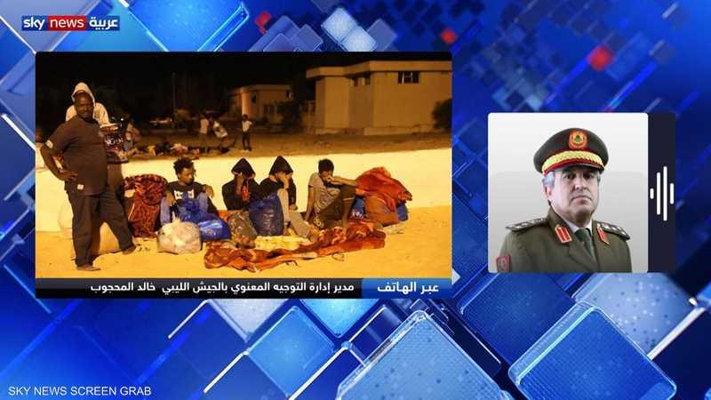 مدير إدارة التوجيه المعنوي بالجيش الليبي العميد خالد محجوب
