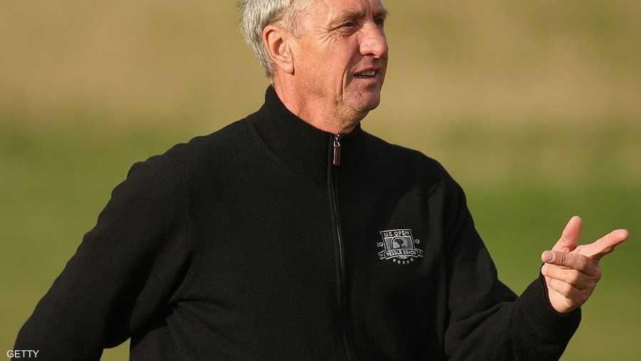 يوهان كرويف، لاعب ومدرب هولندي