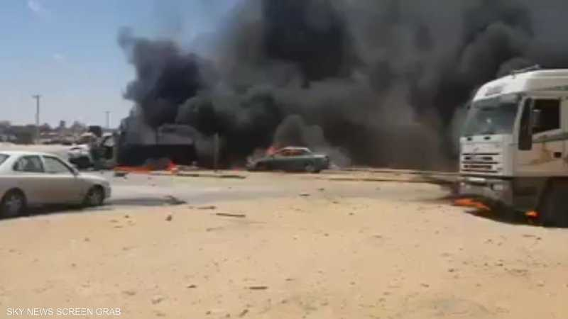 ميليشيات السراج تستهدف أهدافا مدنية بطرابلس