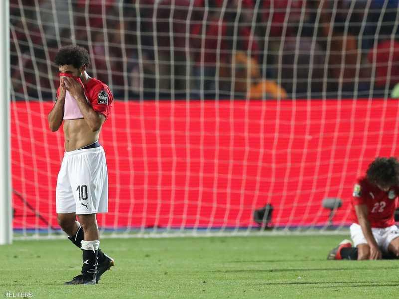 خرج المنتخب المصري الأول من دور الـ16 لبطولة الأمم الأفريقية