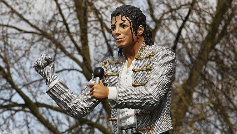 تمثال مايكل جاكسون في لندن