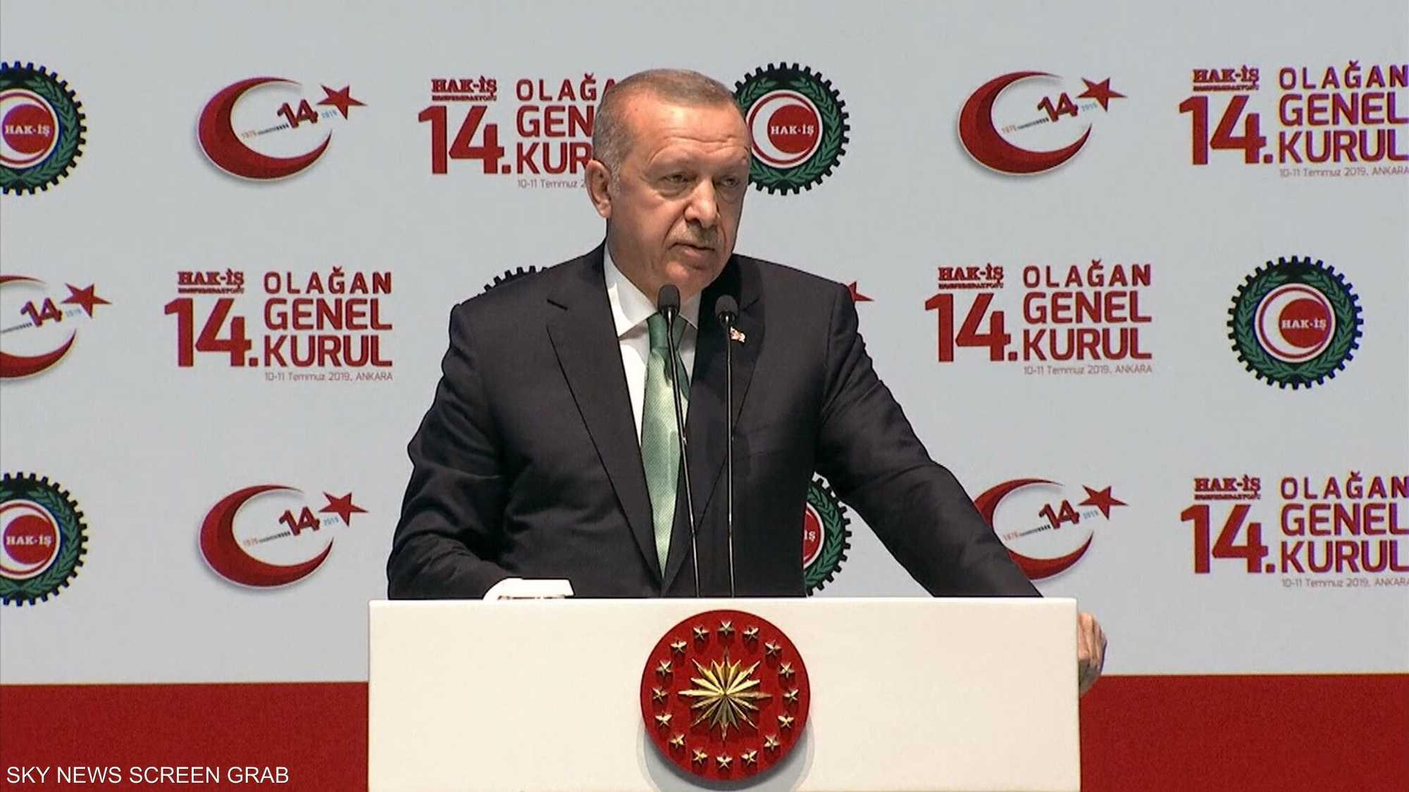 أردوغان يشن هجوما حادا على باباجان