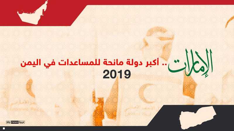 الإمارات.. الأولى عالميا في إغاثة الشعب اليمني