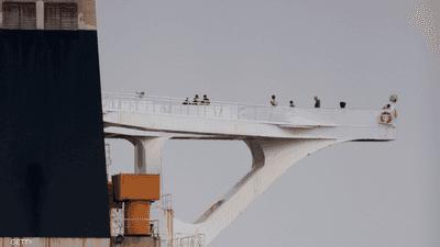جبل طارق تفرج عن أفراد طاقم الناقلة الإيرانية المحتجزة