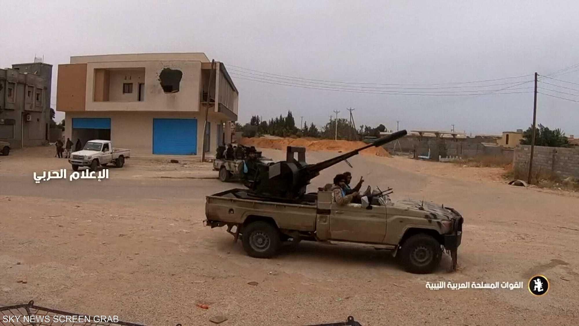 الجيش الليبي: معركة طرابلس في أمتارها الأخيرة