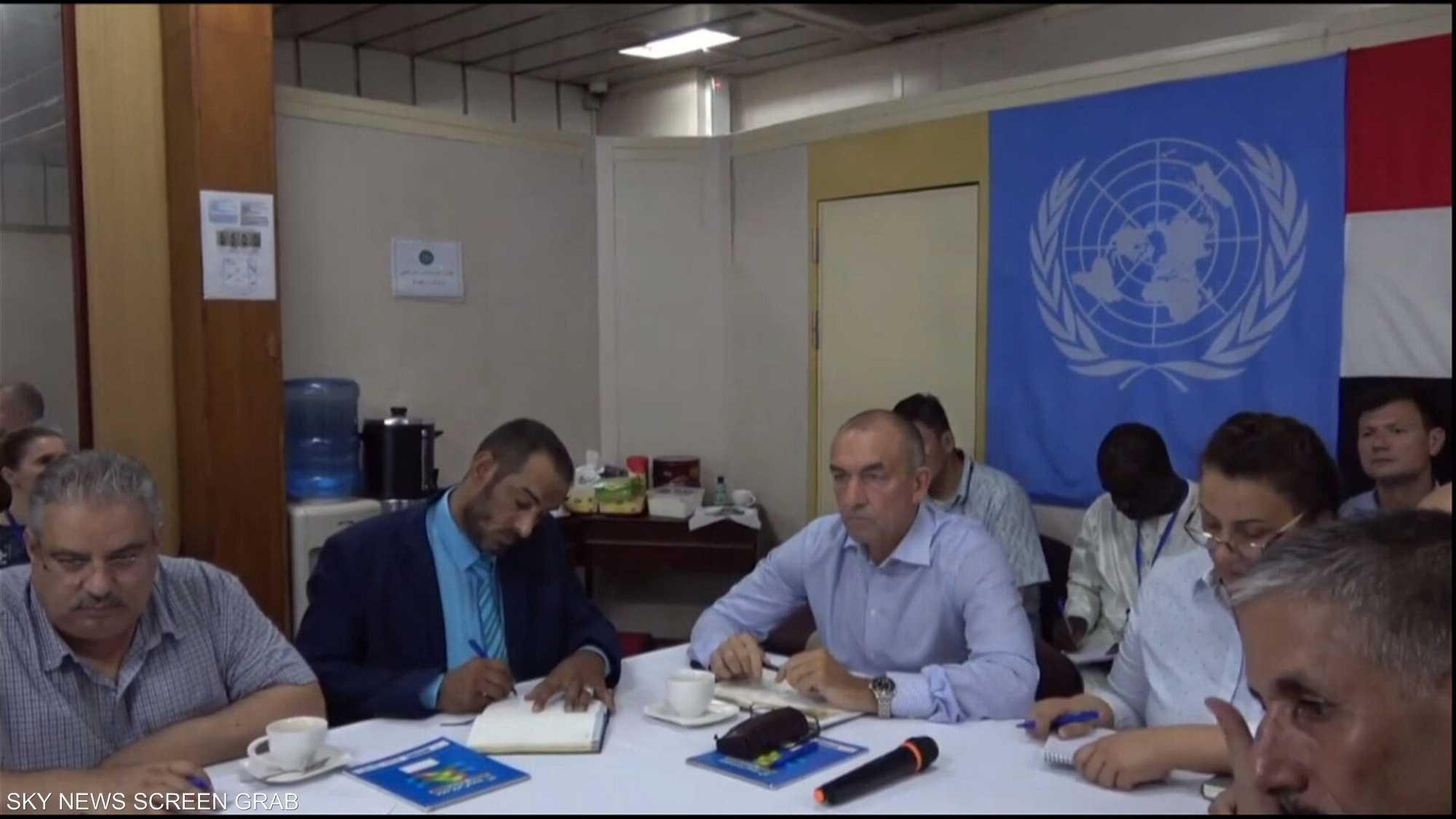 لجنة تطبيق اتفاق السويد تجتمع لليوم الثاني في عرض البحر