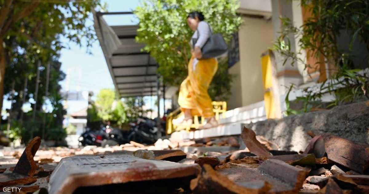 زلزال في بالي.. ذعر بين السكان وأضرار طفيفة   أخبار سكاي نيوز عربية