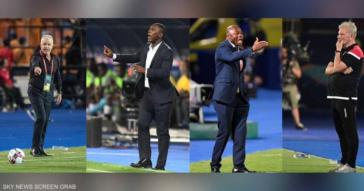 أمم أفريقيا 2019.. البطولة التي تحولت إلى  مقصلة  للمدربين   أخبار سكاي نيوز عربية
