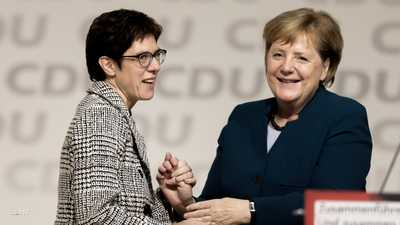 """تعيين خليفة ميركل """"المحتملة"""" في منصب وزيرة الدفاع في ألمانيا"""
