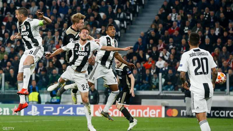 دي ليخت أقصى يوفنتوس من دوري أبطال أوروبا الموسم الماضي