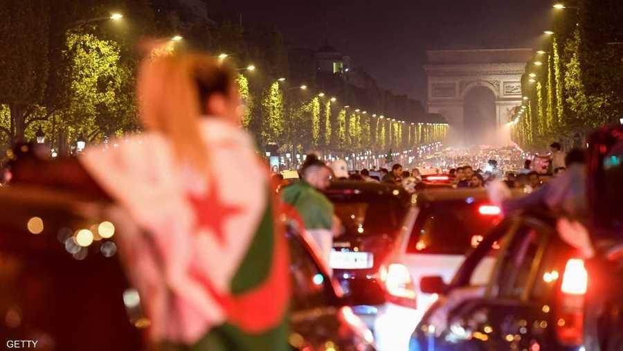 باريس باتت ليلة جزائرية