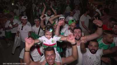 أفراح جماهير الجزائر باللقب الأفريقي