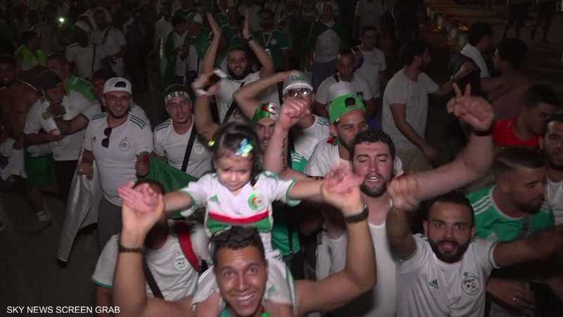 فرحة الجزائر