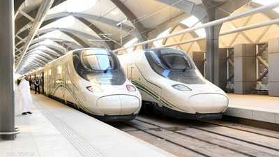 قطار الحرمين يرفع طاقته الاستيعابية لـ80 رحلة أسبوعيا