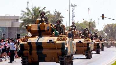 في الذكرى الـ45 لتقسيم قبرص.. أردوغان يهدد بحل عسكري