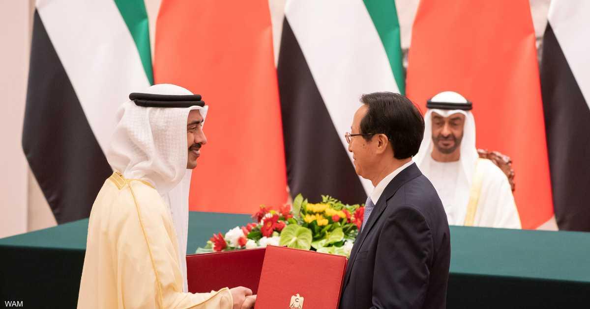 الإمارت توقع 16 اتفاقية ومذكرة تفاهم مع الصين