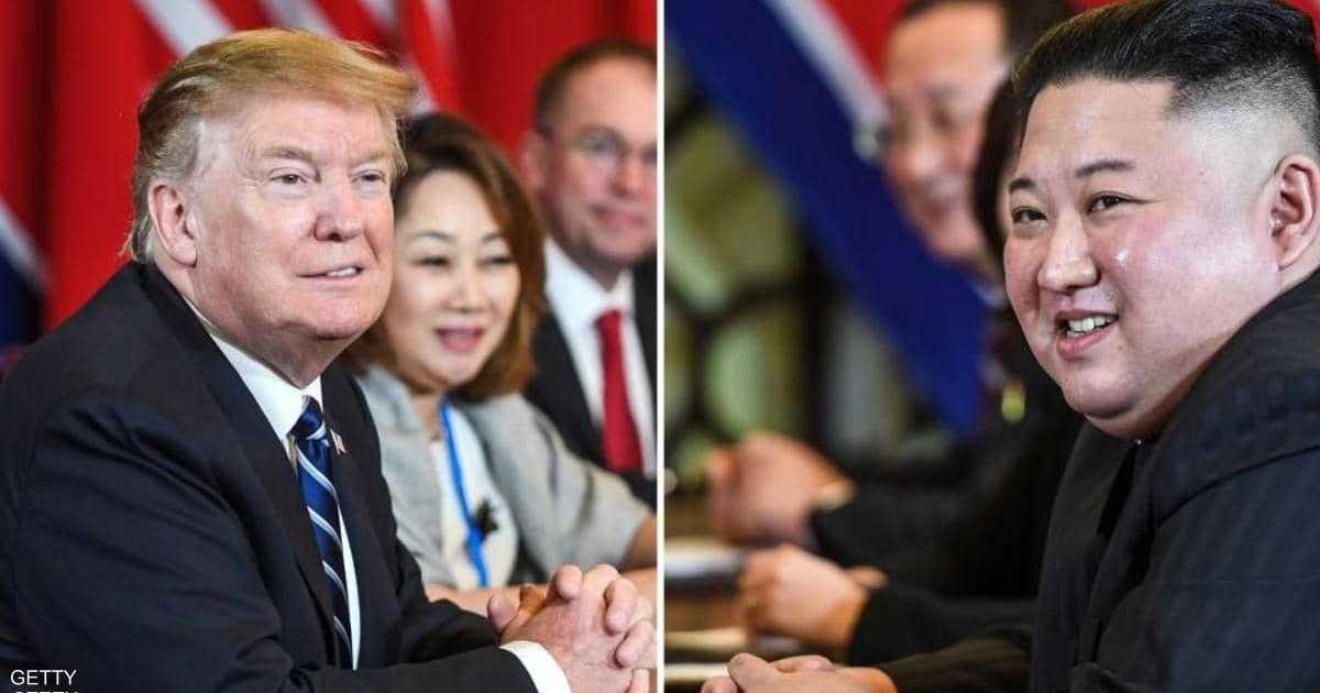 ترامب: تبادل رسائل إيجابية مع كوريا الشمالية