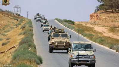 قوات تابعة للجيش الوطني الليبي في لقطة أرشيفية