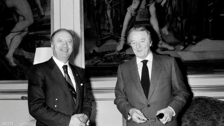 في لقاء خاص مع وزير الخاريجة الفرنسي الأسبق رولان دوما