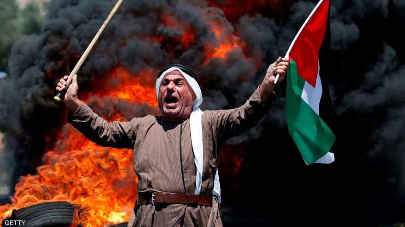 اشتباكات في نابلس بعد دخول مستوطنين للصلاة في قبر يوسف 1-1272048.JPG