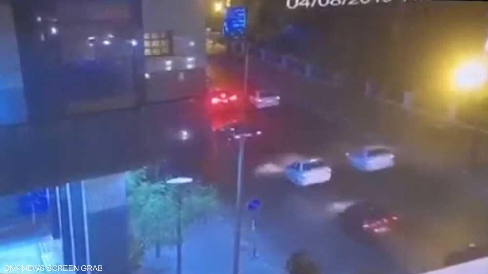 لحظة التفجير قرب معهد الأورام بالقاهرة