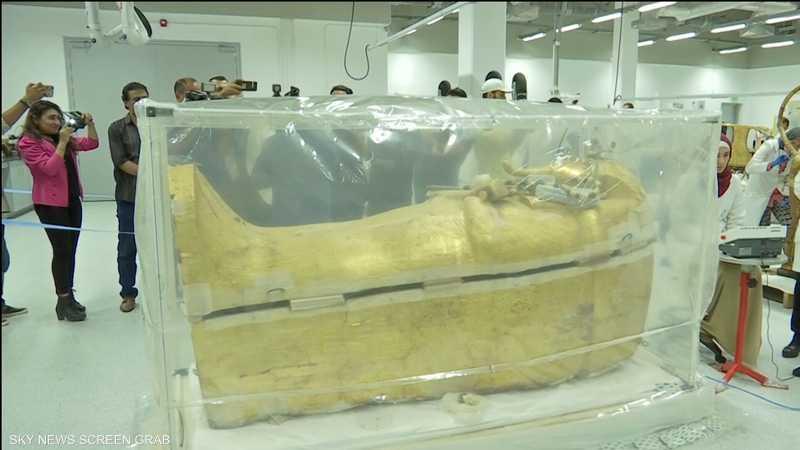مصر.. بدء ترميم تابوت توت عنخ آمون