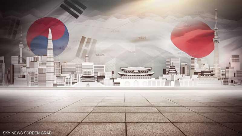 تصاعد التوترات التجارية بين اليابان وكوريا الجنوبية