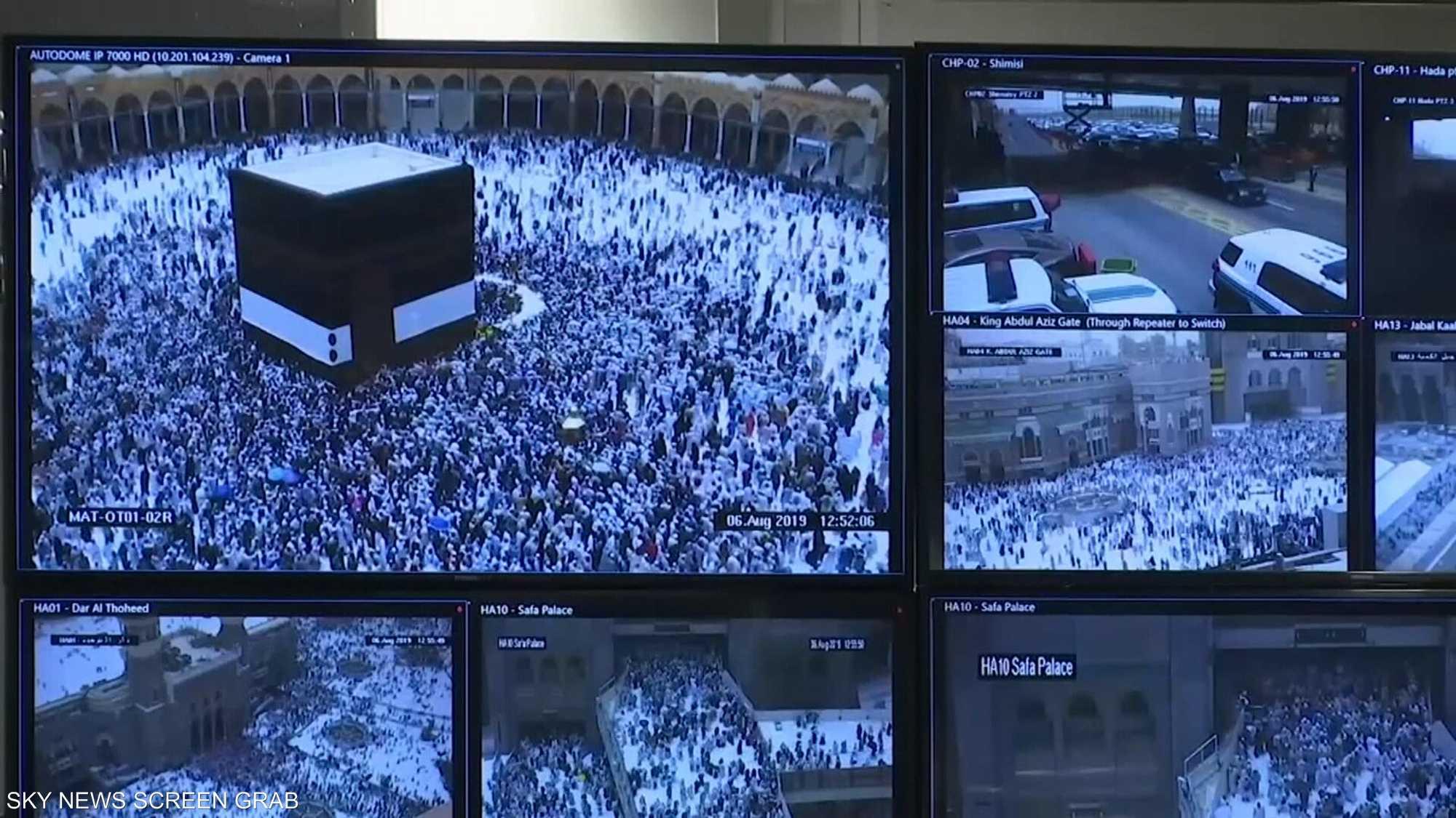وصول مليون و800 ألف حاج من الخارج إلى مكة المكرمة