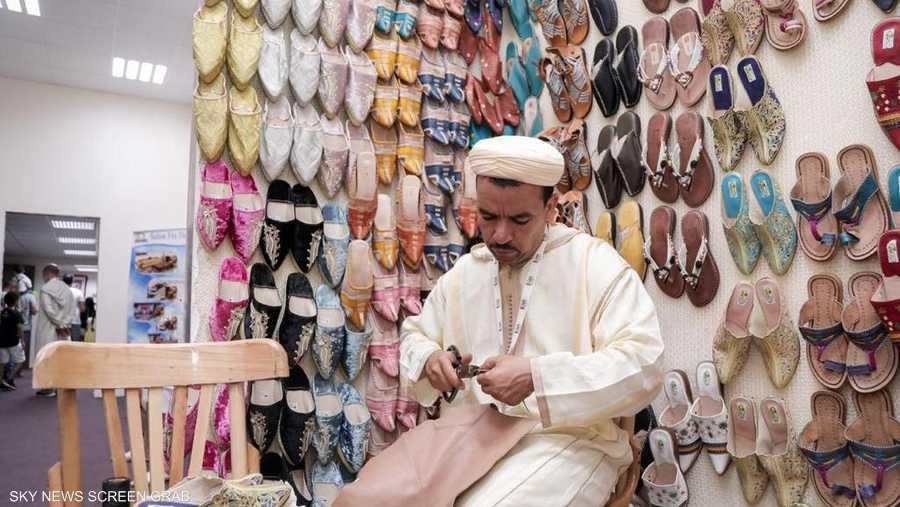 الجناح المغربي في سوق عكاظ