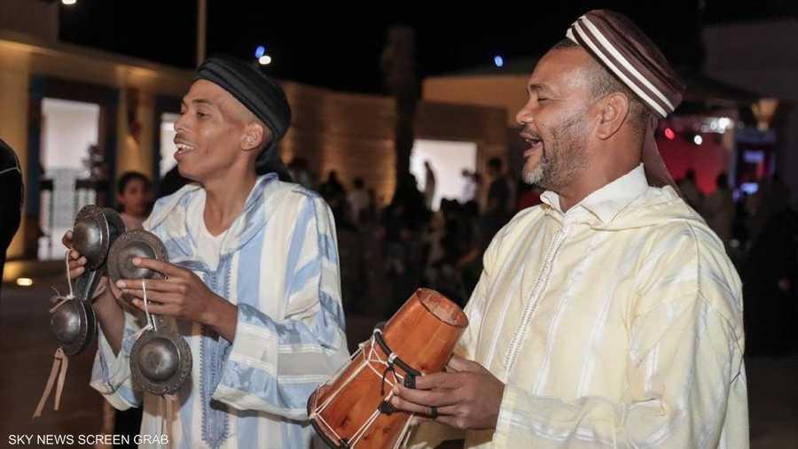 التراث المغربي في سوق عكاظ