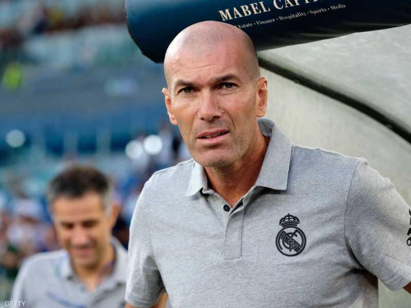 زيدان يعول على اللاعبين الموجودين في ريال مدريد