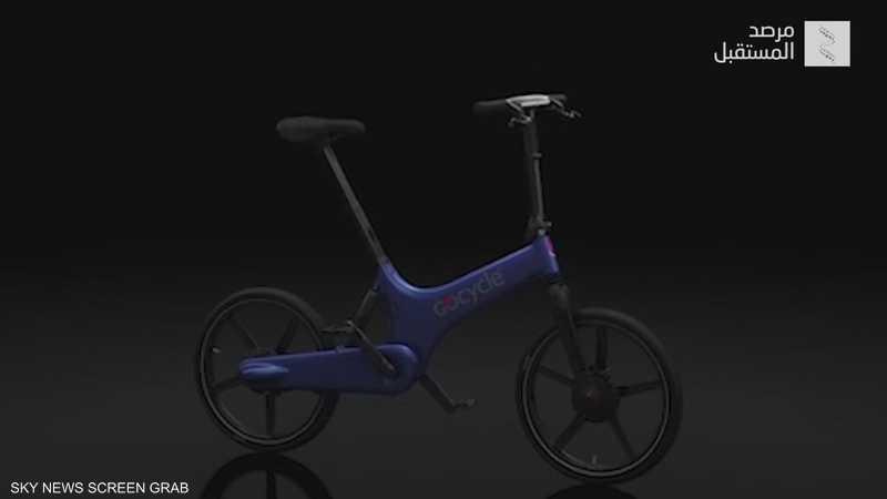 دراجة كهربائية قابلة للطي