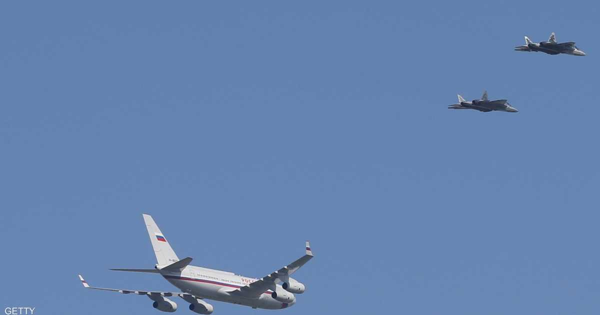 مواجهة جوية بالمقاتلات الحربية دفاعا عن وزير الدفاع الروسي