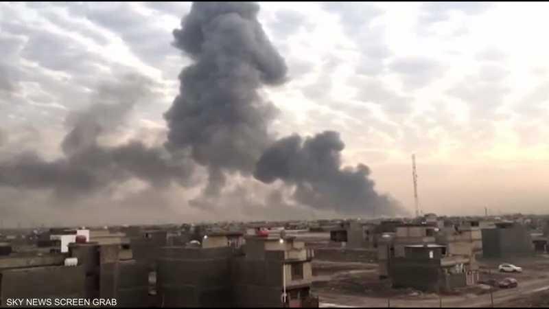 العراق.. دعوة لإجراءات سلامة بعد انفجار مخازن أسلحة