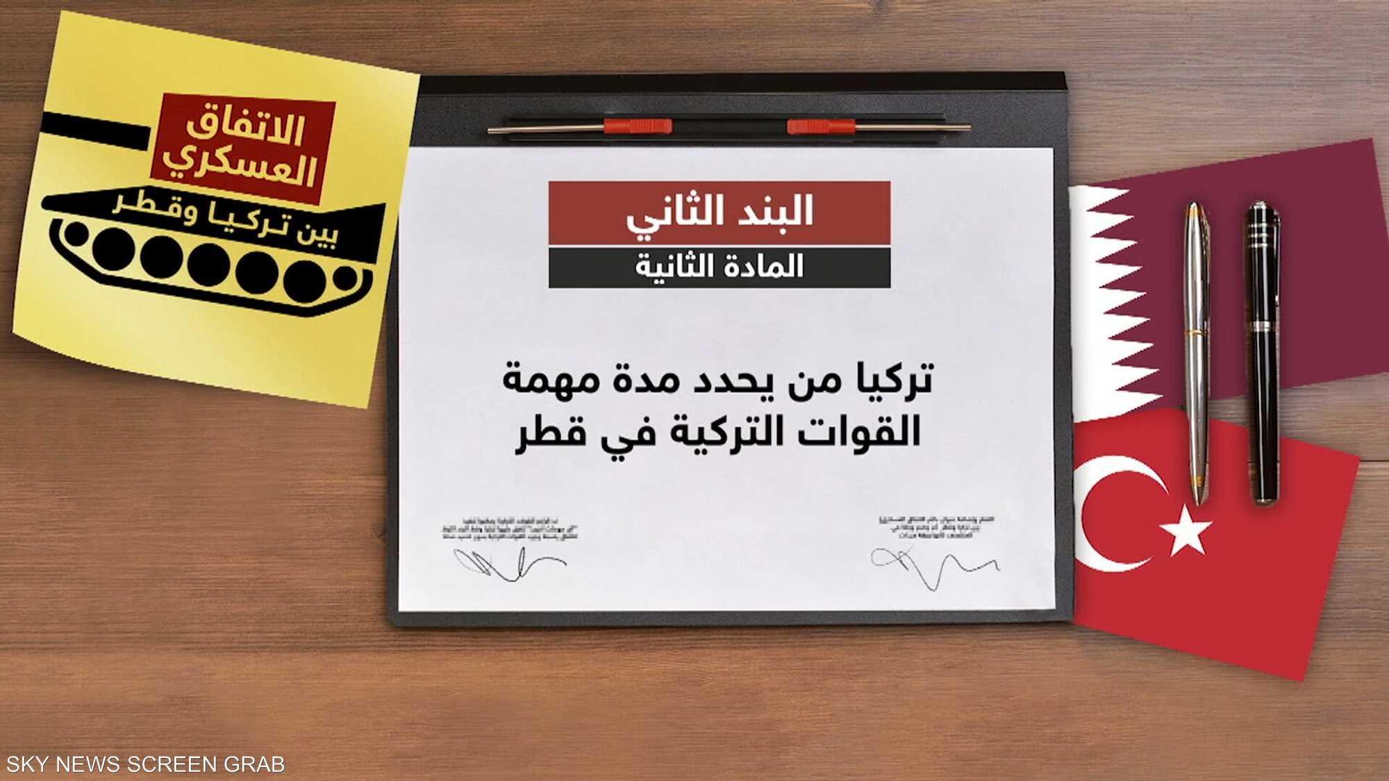 تدشين قاعدة عسكرية تركية جديدة في الدوحة الخريف المقبل