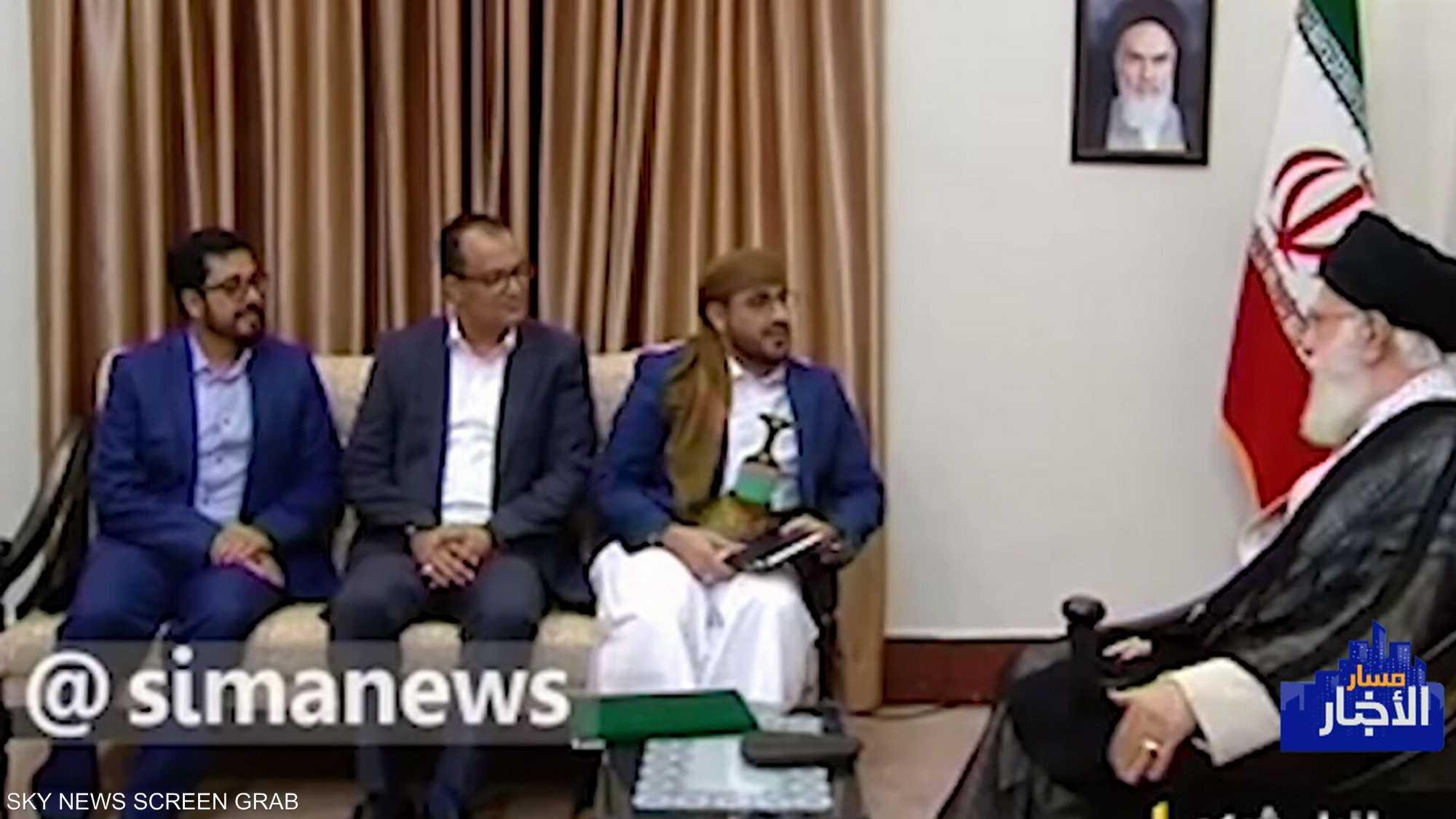 خامنئي يتعهد بمواصلة دعم ميليشيات الحوثي