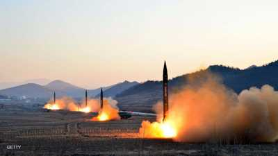 """ردا على """"تهديدات الغزو"""".. كوريا الشمالية تطلق صواريخها"""