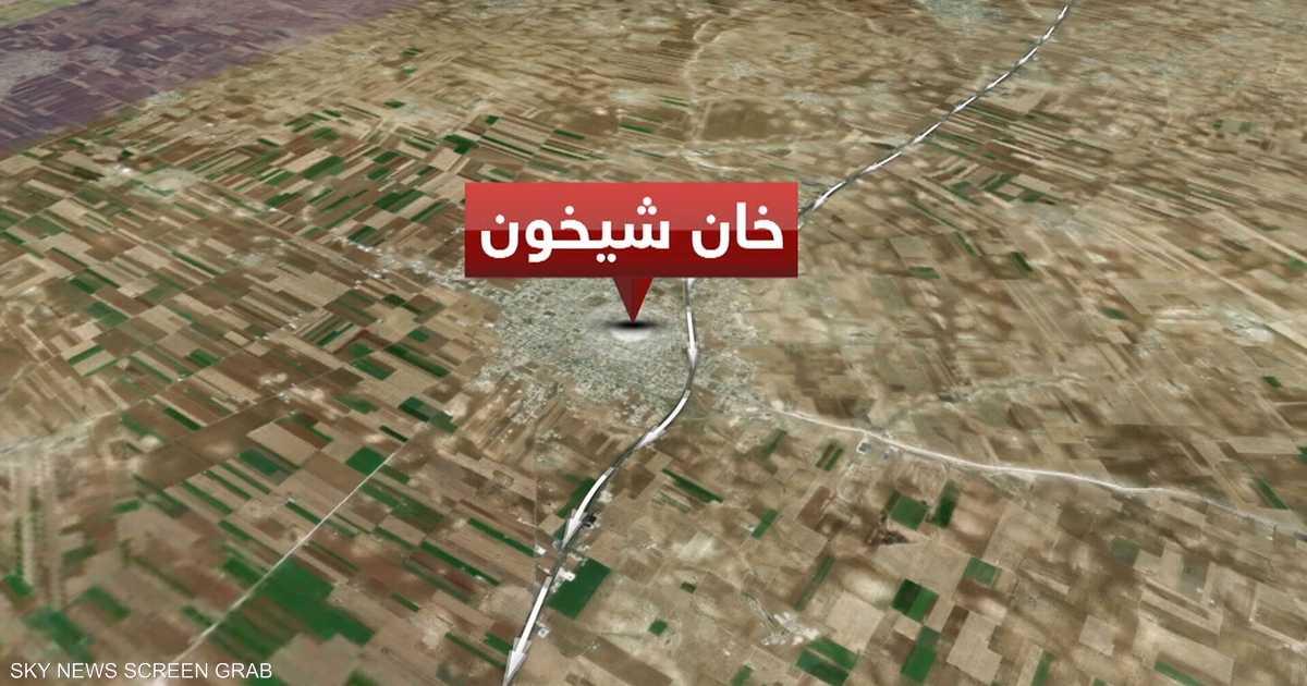 قوات النظام تدخل مدينة خان شيخون شمالي غرب سوريا   أخبار سكاي نيوز عربية