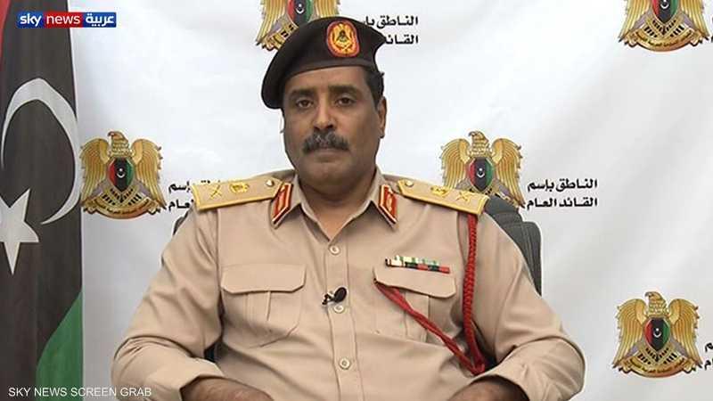 المسماري: قاعدة مصراتة الجوية تمثل مركزا لتدريب الميليشيات