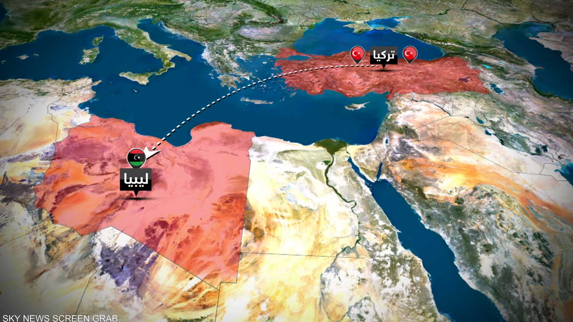 تركيا ومحاولات نشر قواعدها العسكرية في المنطقة