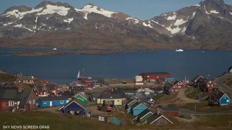 ترامب يبدي رغبة في شراء غرينلاند والدنمارك ترفض