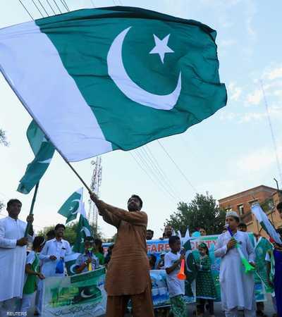 احتجاجات باكستانية مستمرة ضد قرار الهند في كشمير