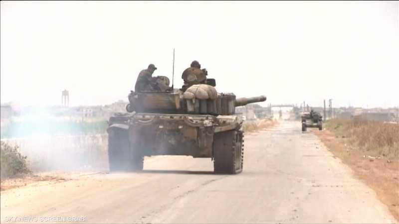 مسلحو النصرة ينسحبون من خان شيخون