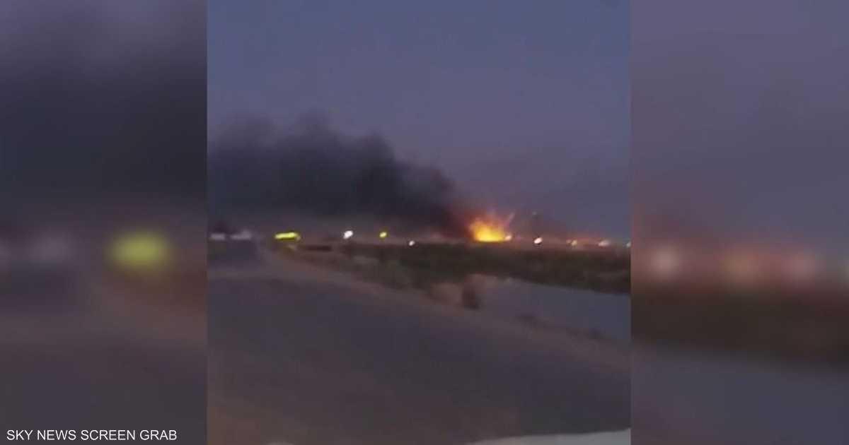 العراق.. انفجارات بمخازن أسلحة  للحشد الشعبي  قرب قاعدة جوية   أخبار سكاي نيوز عربية